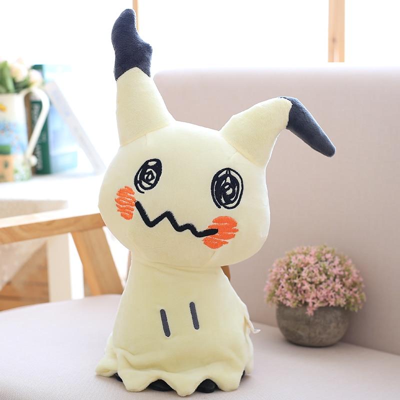 30cm Mimikyu Plush Toys Cartoon Anime Sun Moon Mimikyu Pikachu Stuffed Soft Doll Kids Toy Birthday Gift For Children