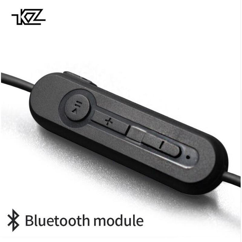 KZ ZST/ZS3/ZS5/ED12/ZS6/ZS10/ZSA/ES4 Bluetooth 4.2 Wireless Upgrade Module Cable for KZ earphones Detachable Cord Applies asus asus be24aqlb 24 1 черный dvi