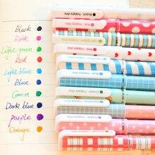 10 pcs/lot Kawaii Cartoon Colorful Gel Pen Set Cute Korean Stationery Pens For Writting Office School Supplies Gift