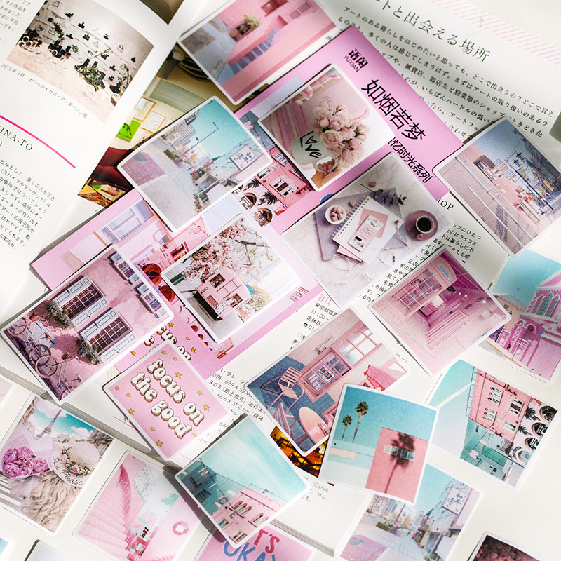 60pcs/pack Recollection Of Time Decoration Stationery Sticker Scrapbooking Planner Journal Diary Diy Decorative Label Stickers