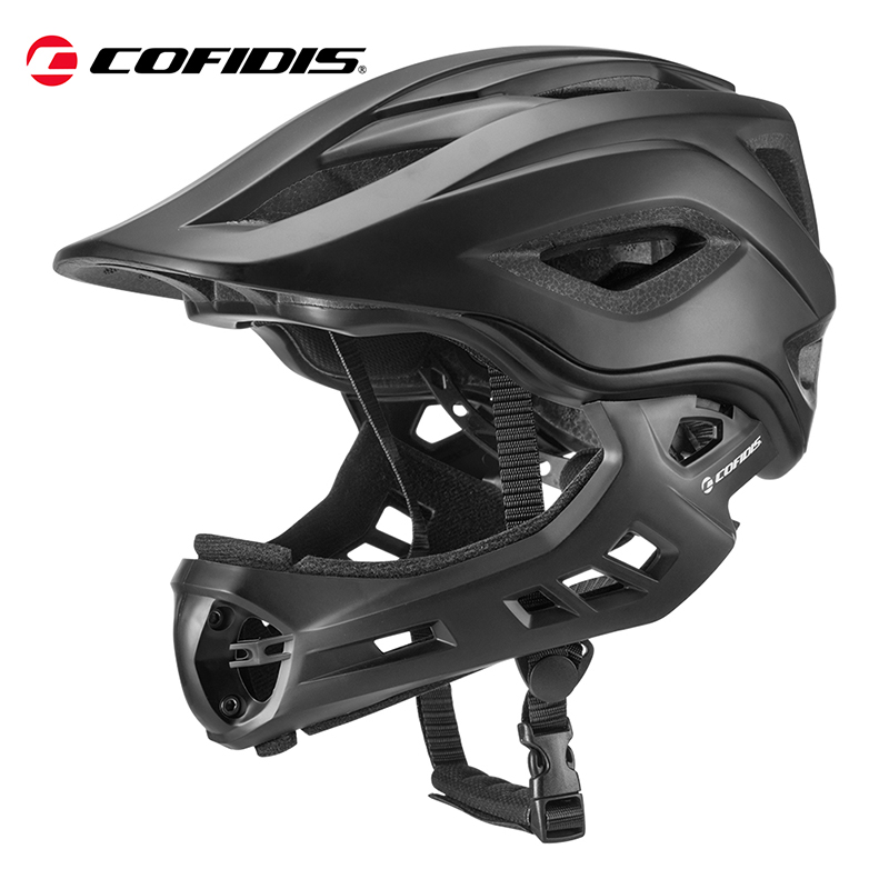 HITS COFIDIS Children Cycling Bike Helmet Taillight Safe and Firm Detachable Adjustable Bicycle Damping Breathable Cap