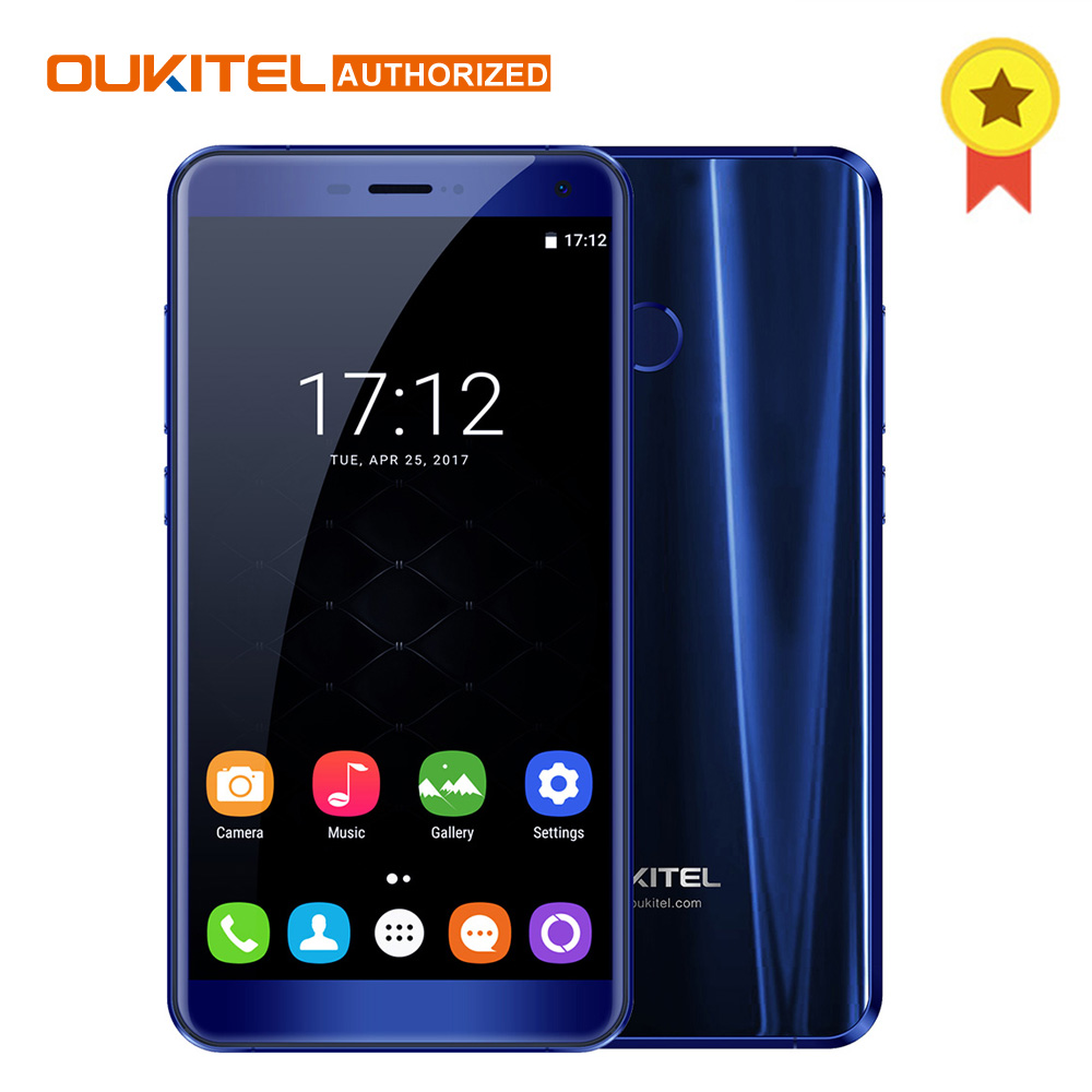 Oukitel U11 Plus Android 7.0 Mobile <font><b>Phone</b></font> 5.7 inch MTK6750T Octa Core RAM 64G ROM 4G LTE Smartphone 1920&#215;1080 13.0MP Cellphone