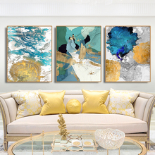 Abstract Artistic Nordic Style Poster Canvas Painting Calligraphy Prints Picture For Living Room House Wall Art  Home Decoration