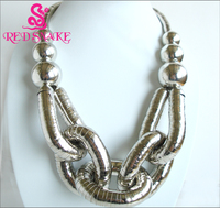 High Quality Stainless Steel Bendable Titanium Silver Plated Snake Necklaces Pendants Fashion Jewelry 2014