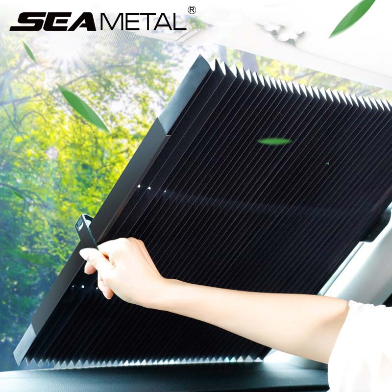 Car Windshield Sun shade Automobiles Sunshade Front Window Covers Auto Windscreen Rear Cover Interior UV Protector Accessories