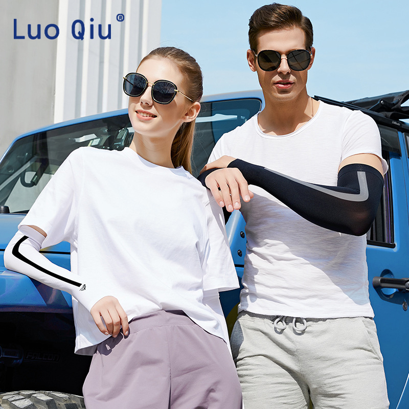 A Pair Of Arm Sleeve Arm Warmers Sun Protection Cycling Sleeves Breathable Sleeve Outdoor Bicycle Climbing UV Protection Arm