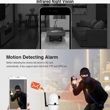 INQMEGA 720P Cloud Wireless IP Camera Intelligent analysis Body Motion