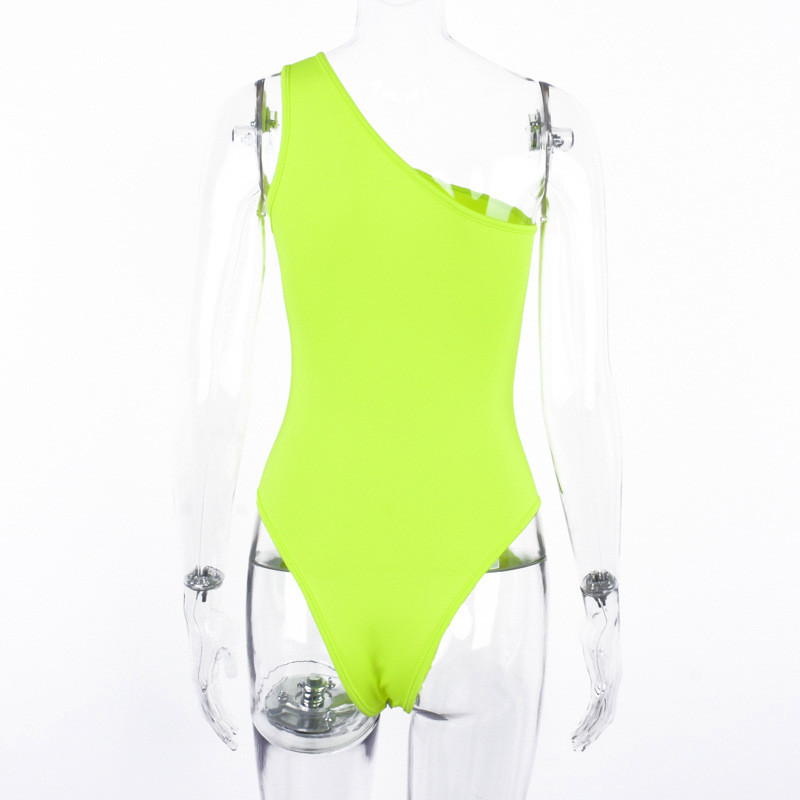 One shoulder bodysuit women15