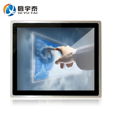 19″ embedded computer industry Capacitive touch screen pc 4GB DDR3 32G SSD Resolution1280x1024 with intel C1037U 1.8GHz