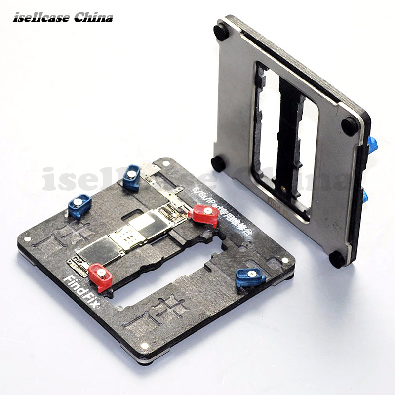 Wozniak Find Best Maintenance Station Fixture for iPhone 5s SE 6 6s Plus For iPad  PCB Motherboard Repair Fixture Platform Mould wozniak mobile phone maintenance clamp for iphone bga chip motherboard fixture location remove glue tin plant fixed clamp