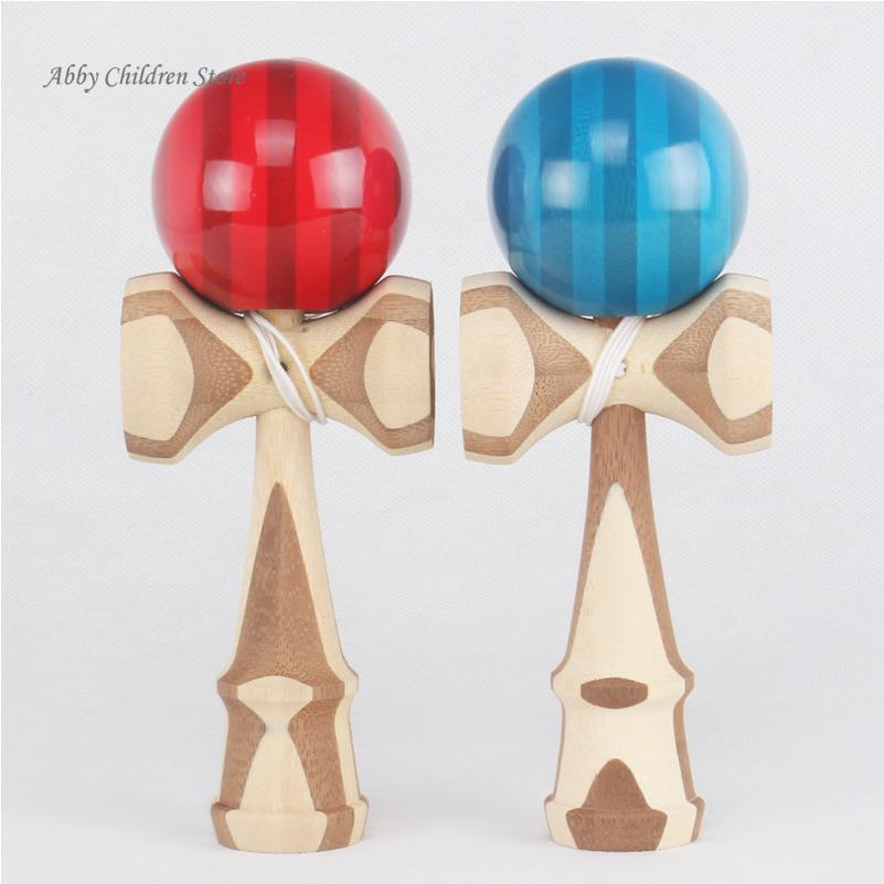 vintage toys wooden game High quality kendama ball toy