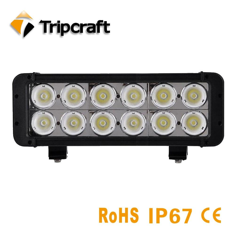 10.9 120W Led Light Bar Spot Flood Combo Beam Hot Sale LED Driving Lighting Work Lighting Car Auto Offroad 4X4 SUV ATV Lamp