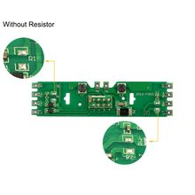2pcs HO Scale 1/87 Model Train Power Distribution Board With Status Led for DC/AC Voltage without resistor PCB011(China)