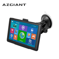 AZGIANT 7 Inch HD Car GPS Navigation FM MP3 MP4 Players Ebook Global Map Free Upgrade