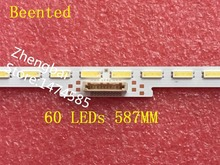 Neue 1 STÜCKE 60 LEDs 587 MM led streifen LM41 00110A arbeits für KDL 48R550C NS5S480VND