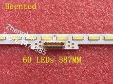 Yeni 1 ADET 60 LEDs 587 MM LED şerit LM41 00110A çalışma KDL 48R550C NS5S480VND