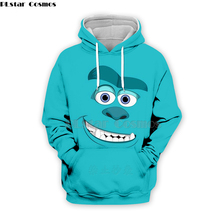 PLstar Cosmos Emoji Ahegao funny lovely Kawaii 3D Hoodies/Sweatshirt long sleeve Men Women Newest streetwear Harajuku fashion-29