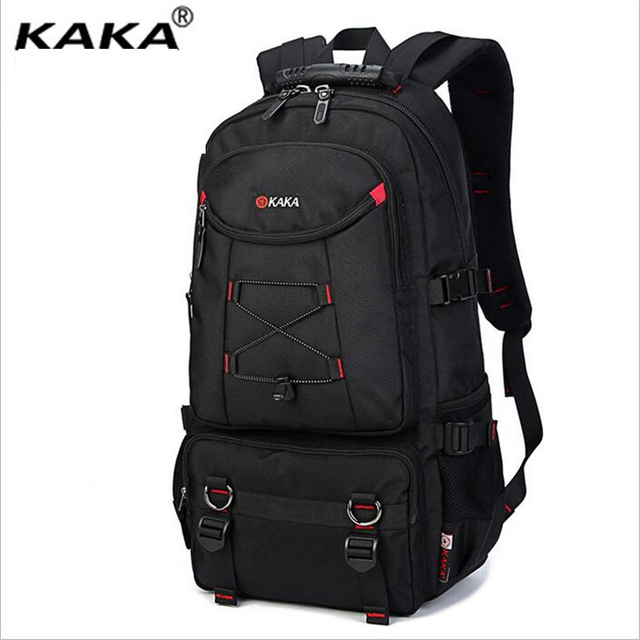 4603250454f3 KAKA New Mountaineering Travel Backpack Europe United States Durable Large  Capacity Travel Bag Leisure Backpack A200