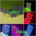 8 X 8 16 X 16 32 X 8 64 256 Pixels WS2812B LED Full Color Digital Flex painel RGB luz do Display Board 5 V