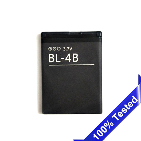 BL-4B Battery For NOKIA 2505 3606 3608 2670 2660 2630 5000 6111 7070 7088 7370 7373 7500 700mAh B image