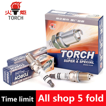 4pcs/lot China original TORCH	Iridium spark plugs	K6RTI-11	for GREAT WALL HOVER/H3/H5/WINGLE 5	 ,etc.