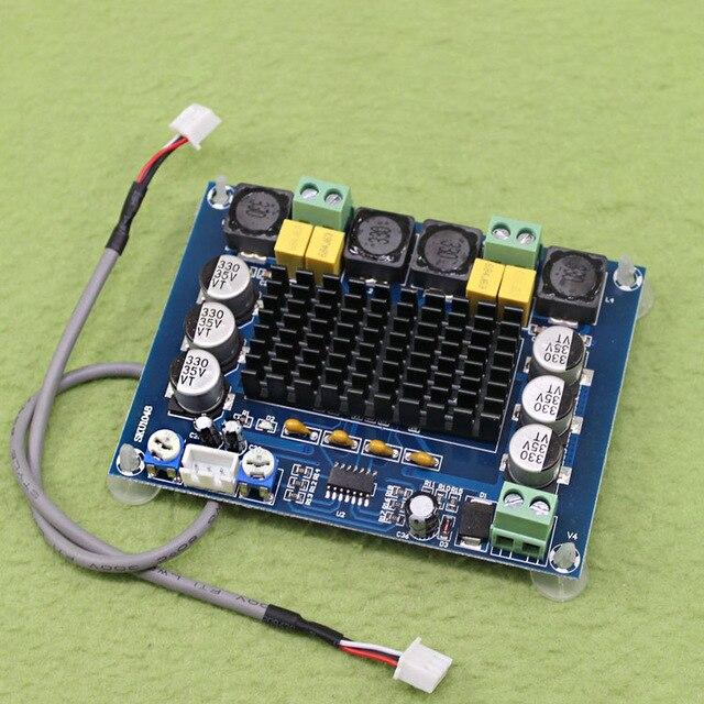 무료 배송 새로운 XH-M543 모듈 고전력 디지털 전력 증폭기 보드 tpa3116d2 오디오 증폭기 모듈 듀얼 채널 2*120 w