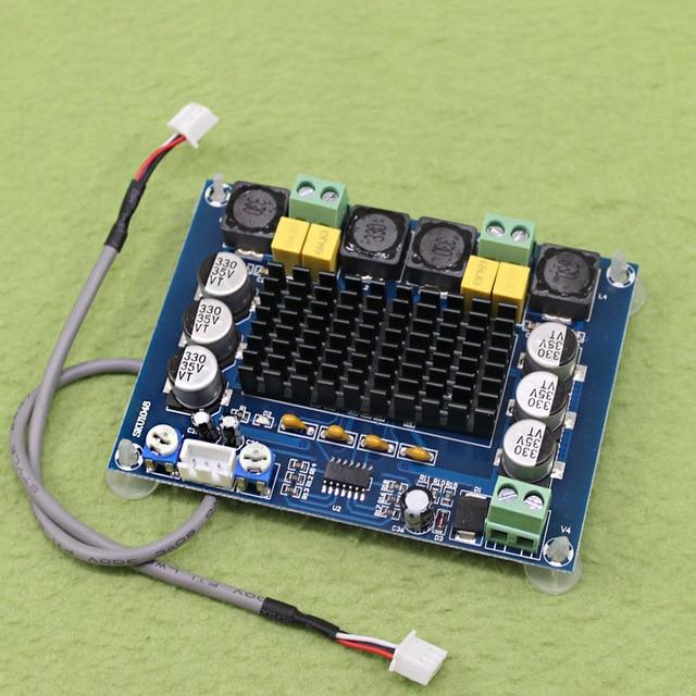 Il trasporto libero NUOVO XH-M543 ad alta potenza del modulo amplificatore di potenza digitale di bordo TPA3116D2 modulo amplificatore audio A Doppio canale 2*120W
