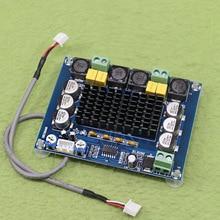 새로운 XH M543 고전력 디지털 전력 증폭기 보드 TPA3116D2 오디오 증폭기 모듈 듀얼 채널 2*120W 센서