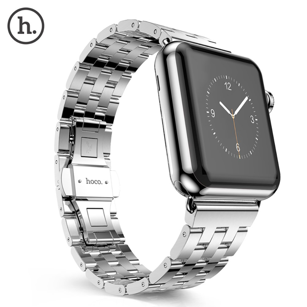 Hoco Watch Band Stainless Steel Watchband with Folding Clasp for Apple Watch 42mm