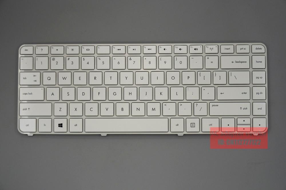 New Replace FOR HP Pavilion Dv4-5000 Dv4-5109TX 5113T Keyboard White