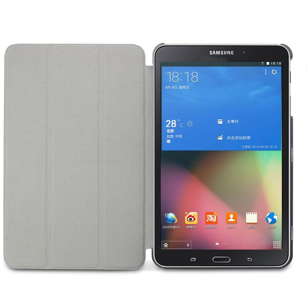 tab 4 sm t330 t331 tablet smart book cover case ultra slim. Black Bedroom Furniture Sets. Home Design Ideas