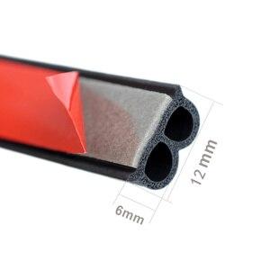 Image 2 - Uniwersalna uszczelka do drzwi samochodowych typu B izolacja hałasu uszczelka Auto uszczelki gumowe do izolacja akustyczna do samochodu