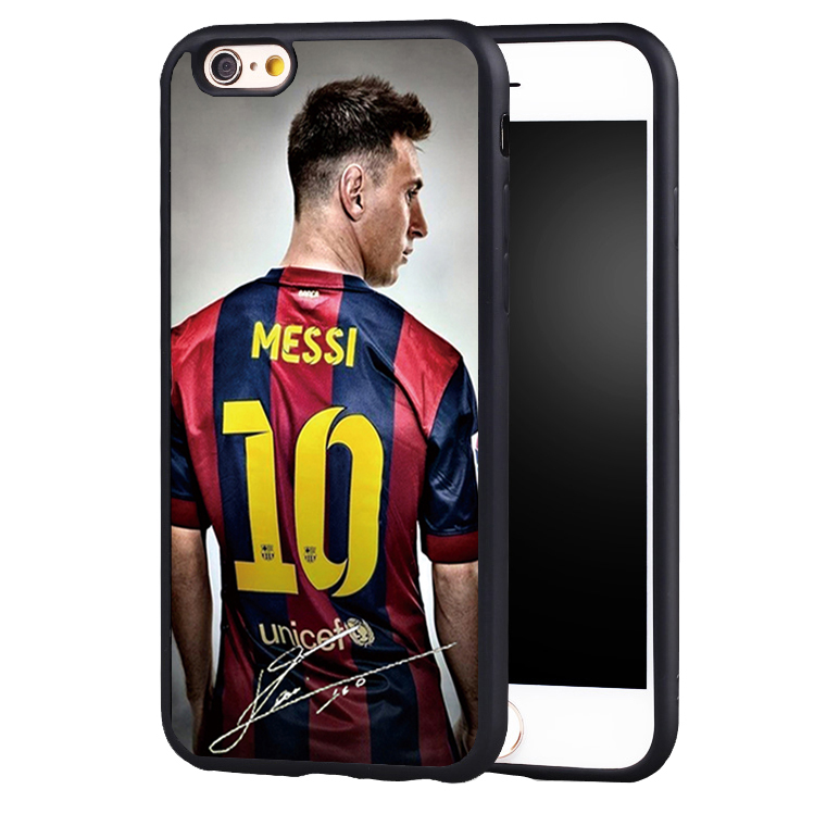 Soccer Cartoon Lionel Messi phone Case cover for iPhone 7 7S 7PLUS 6 6S 6PLUS
