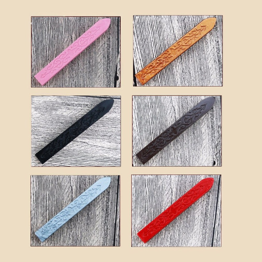 Vintage Ancient Sealing Wax Multicolor Arrows Pattern Special Wax Sealed Wax For Wedding Invitation Card Envelope Dropshipping in Candles from Home Garden