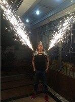 Silver Dance Bar Shoulder Wears Mask Singer Cold Fireworks Clothing Party DJ DS Disco Ballroom Light Costumes Supplies