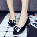 2016 Summer fashion pointed toe low-heels women flats Shallow sweet butterfly-knot comfortable casual women flats ST670