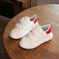 Meninos Meninas Sneakers 2017 Primavera Crianças Causal Sapatos de Bebê Meninas Sapatos Brancos Crianças Flat Shoes Crianças Confortáveis Formadores C226
