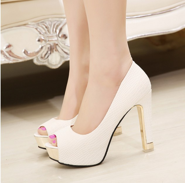 2018 Women Pumps Spring and Autumn Shoes Super Square High Heels Platform 2.5cm Round Toe Shoes for Women Size spring and autumn flat round toe shoes big yards platform shoes pedal lounged single shoes plus size 40 41 43 women s shoes 42