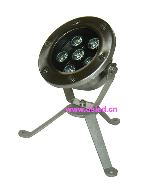 Free shipping by DHL !! IP68 6W LED underwater light,LED pool light,12V DC,DS-10-8-6W,stainless steel SL304,2-Year warranty free shipping by dhl ip68 stainless steel high power 9w led swimming pool light underwater led light ds 10 1 9w 3x3w 12v dc