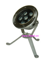 Free shipping by DHL !! IP68 6W LED underwater light,LED pool light,12V DC,DS-10-8-6W,stainless steel SL304,2-Year warranty