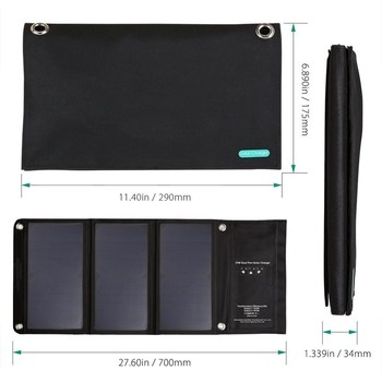 power bank 21W Solar Cells Charger 5V USB Output Devices Portable Solar Panels for Smartphones Laptop charging power bank Supply
