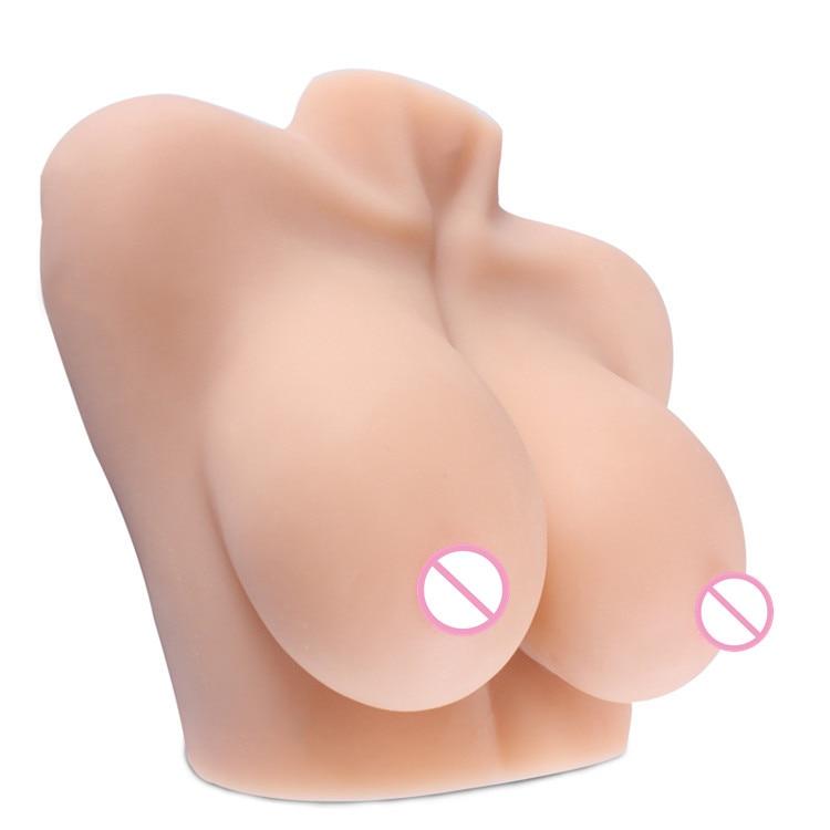My Big Fat Titties Chest Mold Male Masturbation Sex Dolls Masturbators For men Breast Masturbation Soft 1:1 Real Proportion
