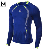 Men S T Shirts Fashion Sport Long Sleeve Compression Shirt Breathable Bike Brand Men T Shirt