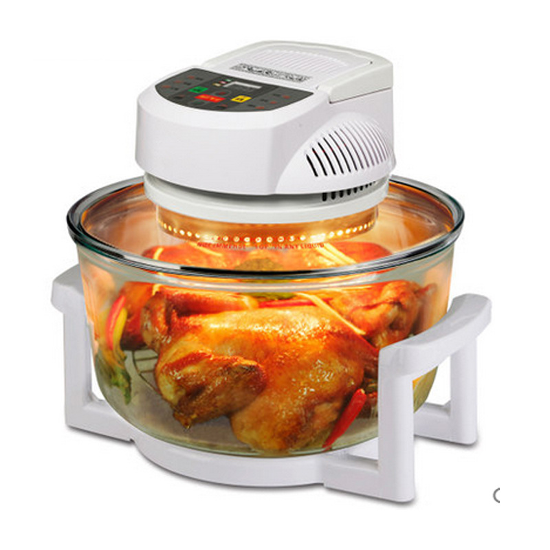 Oil Free Smokeless Electric Deep Fryers Home Commercial Kitchen Cooker Multi-functional Fries Maker Machine salter air fryer home high capacity multifunction no smoke chicken wings fries machine intelligent electric fryer