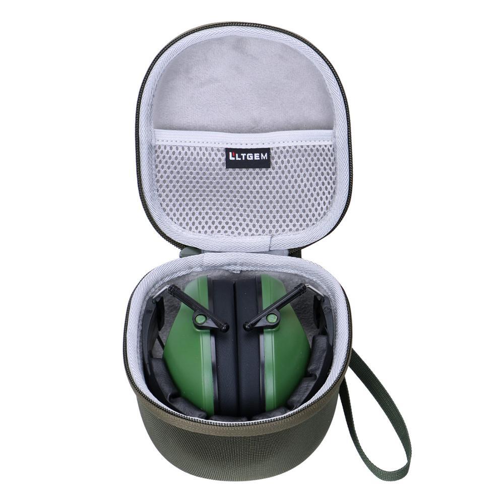 LTGEM EVA Waterproof Carrying Case For Pro For Sho 34dB Shooting Ear Protection & Walker's Gwp-RSEMPAT-FDE Electronic Muffs