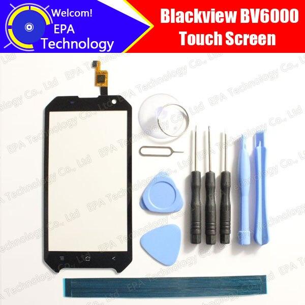 imágenes para Blackview BV6000 Pantalla Táctil Digitalizador 100% de Garantía Original Del Panel Táctil de Cristal Digitalizador de Pantalla Para BV6000 + herramientas + Adhesivo