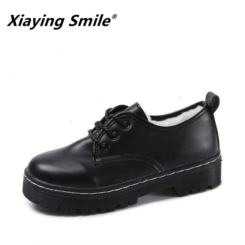Pumps Solid-Shoes Ladies New-Style Fashion Women Winter And Casual Autumn Short Smile