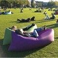 Moda Sofá Inflable Cama Sleep Relajación de Aire Colorido Plegable a prueba de Agua Al Aire Libre Senderismo Bolsa Tumbona Sofá Inflación Jardín