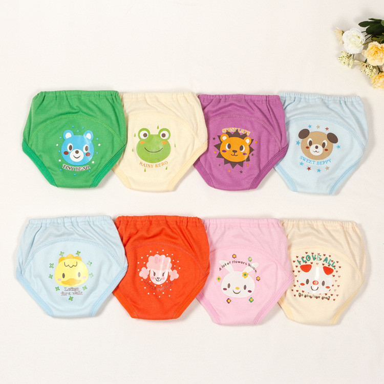 Hot Selling 4pcs/lot 4 layers Baby Nappies for Boy Girl Underwears Briefs Infant Diapers ...