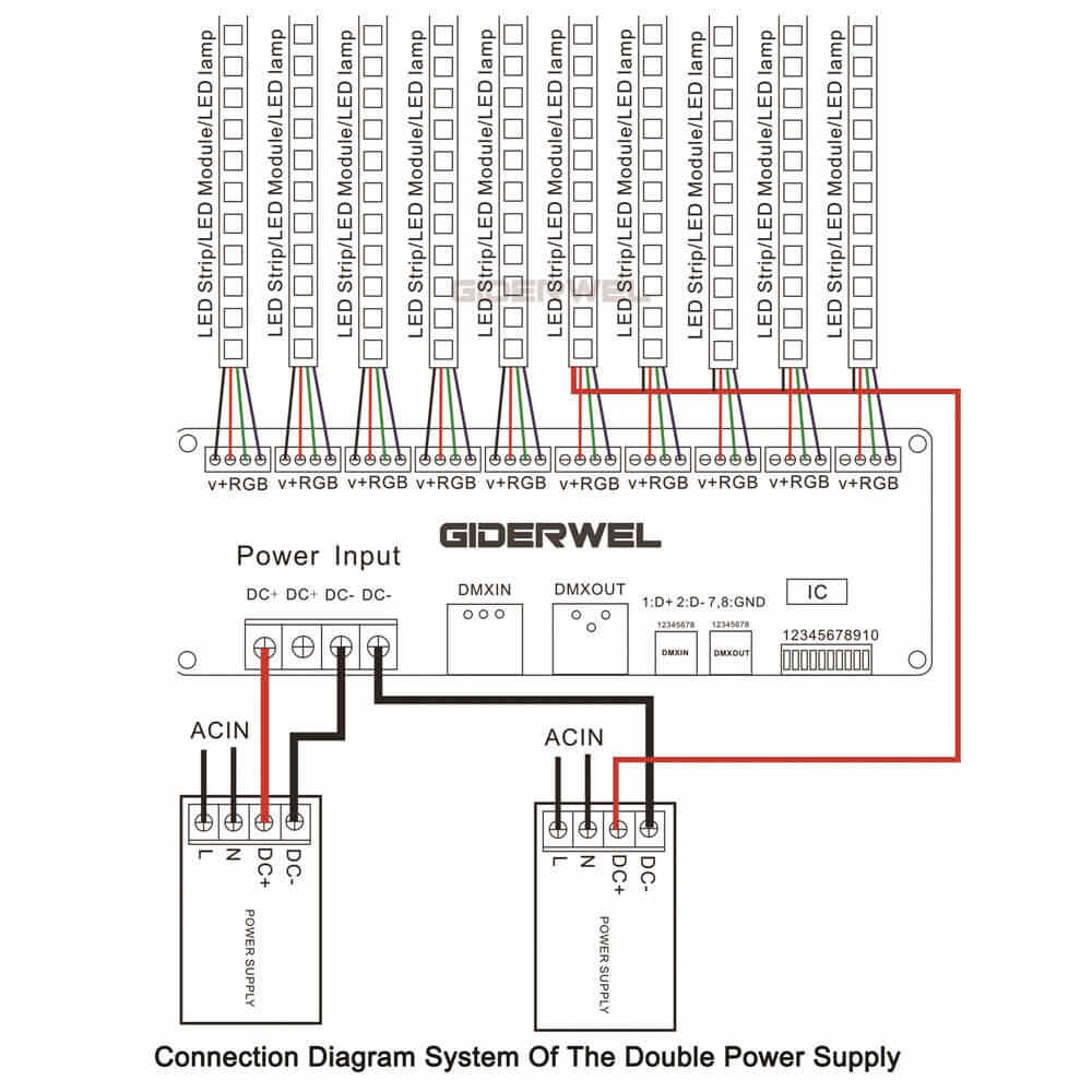 small resolution of detail feedback questions about 30 channel rgb dmx512 decoder led wiring diagram dmx control led dimmer get free image about wiring